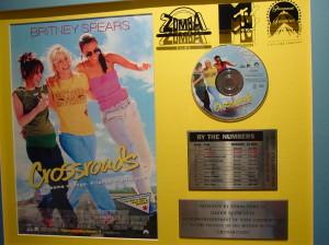 Britney plaque