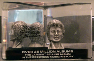MJ paperweight
