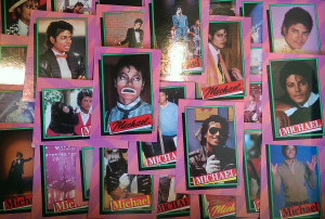 MJ trading cards