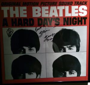 George Martin autograph